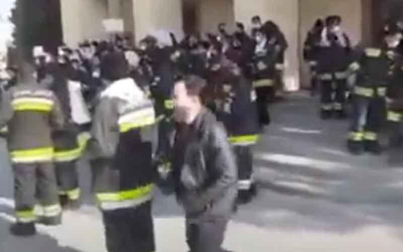 Reli Petugas Pemadam Kebakaran