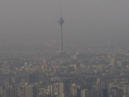 Air pollution levels are above critical in many parts of Iran at a time when the government has failed to contain the respiratory pandemic.