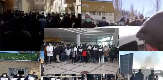 The Iranian people began 2021 with protests and rallies for their inherent rights, of which they have been deprived by the theocratic regime.