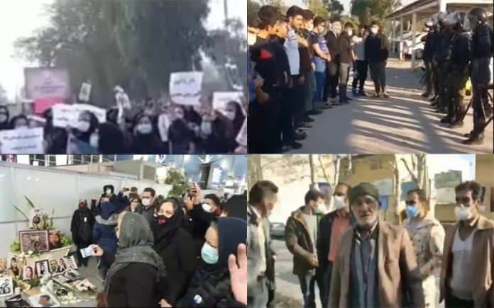 On January 7, preschool educators, unemployed youths, families of Ukrainian airliner's victims, and livestock farmers held four protests across Iran.