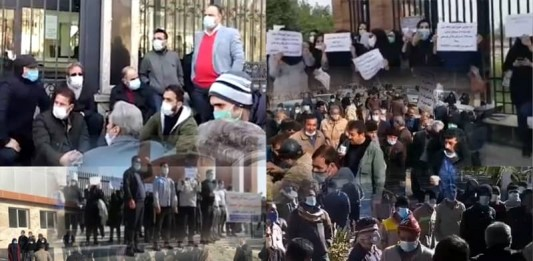 On January 5, Iranian workers, nurses, farmers, medical staff, merchants, creditors, pensioners, and miners held rallies and strikes.