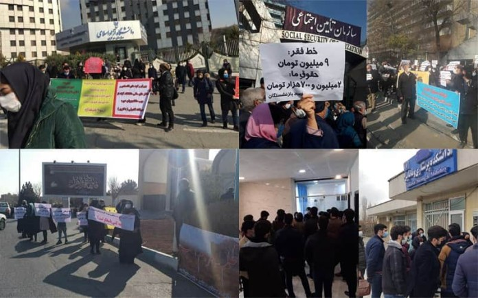 In Iran, not a day goes by without rallies and strikes. Different classes of society held at least seven protests on January 6.