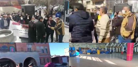 On January 29, Iranian citizens held at least three rallies and strikes, seeking their inherent rights and demands.