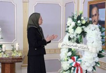 NCRI President-elect Maryam Rajavi paid homage to the late Colonel Behzad Mo'ezi, who played a crucial role in the resistance movement.