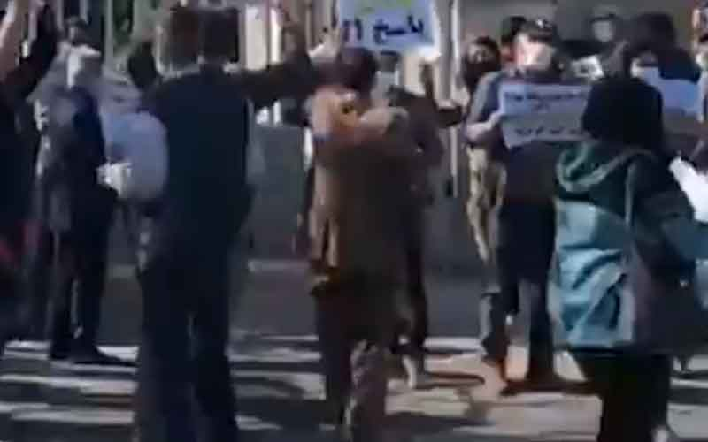 Rally of Locals—Iranians continue protests on February 16