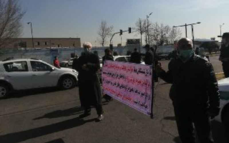 Rapat Umum Pensiunan Penerbangan HOMA — Warga Iran melanjutkan protes pada 14 Februari