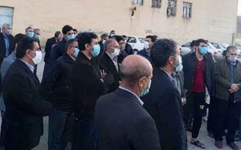 Rally of Landowners—Iranians continue protests on February 10