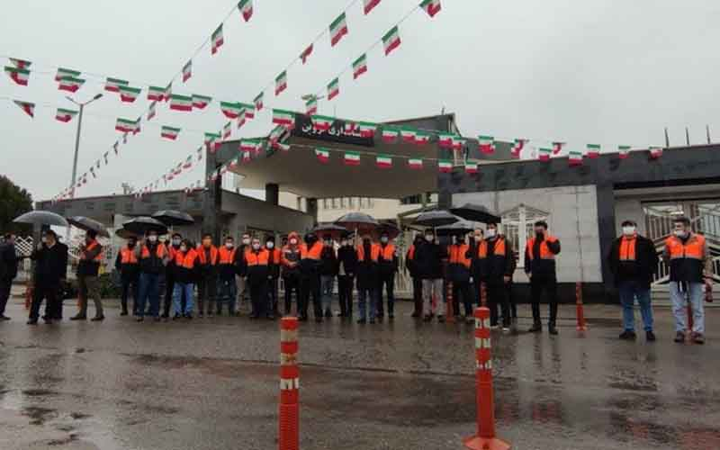 Rally of Toll Workers—Iranian citizens continue protests on February 6