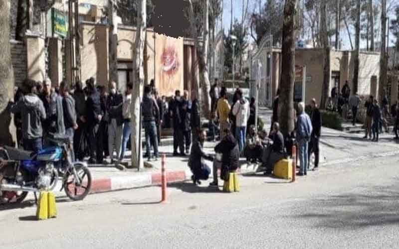 Rally of Vendors—Iranians continue protests on February 13