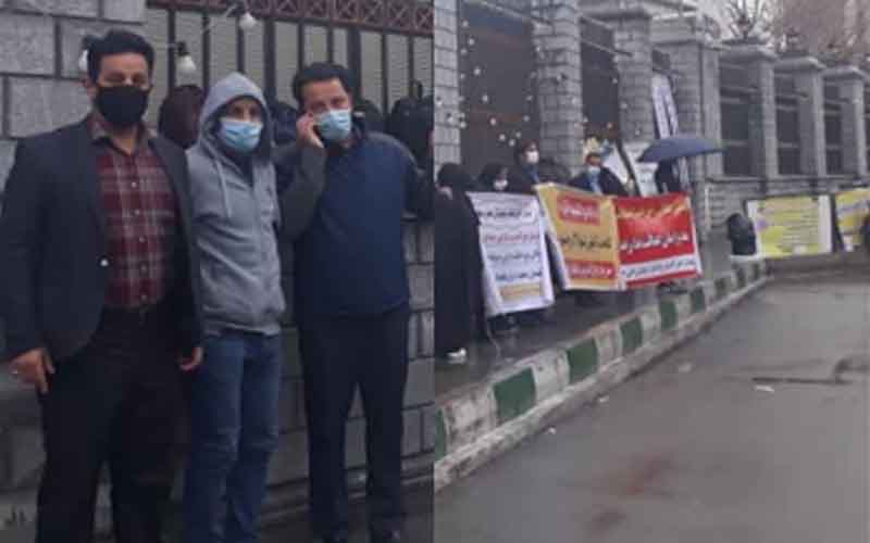Rally of HEPCO Workers—Iranians continue protests on February 7