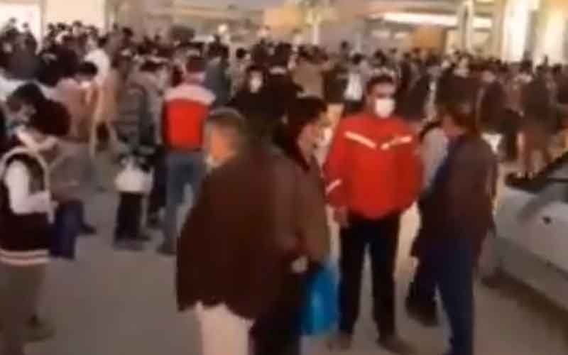 Strike of Workers—Iranians continue protests on February 15