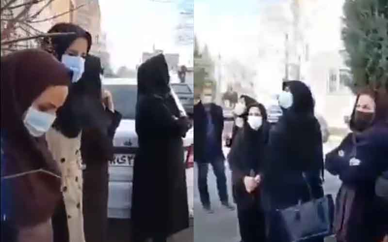 Rally of Medical Staff—Iranians continue protests on February 15