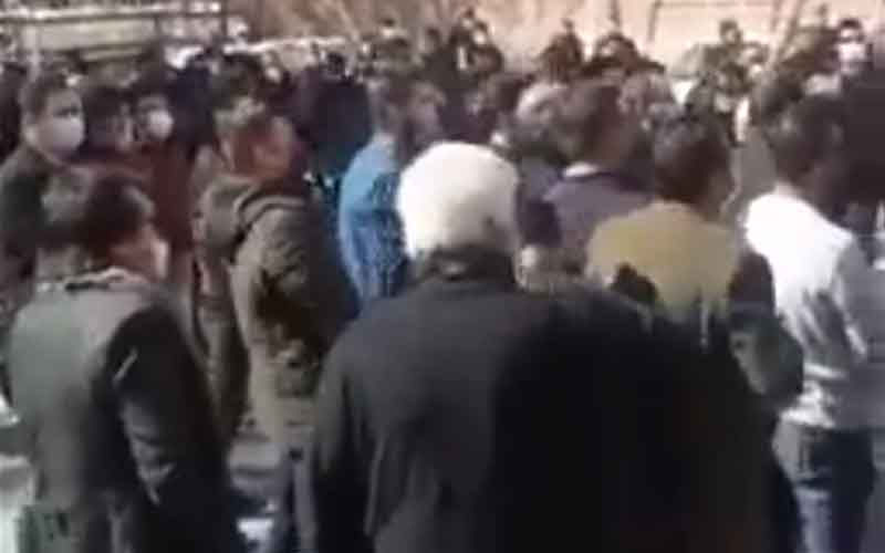 Rally of Customs Staff—Iranians continue protests on February 24