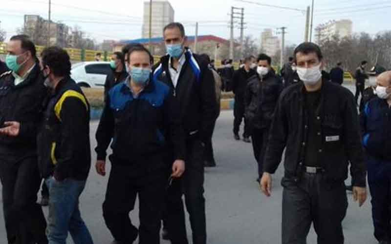 Rally of HEPCO Workers—Iranian citizens continue protests on February 6