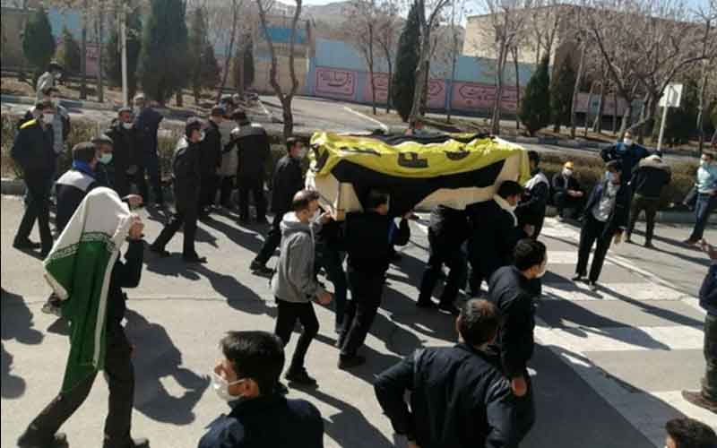 Rally of HEPCO Workers—Iranians continue protests on February 22
