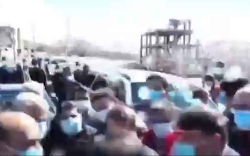 Quake-Stricken People's Protests—Iranians continue protests on February 22