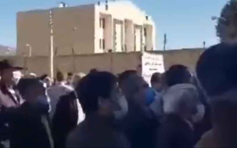 Rally of Stockholders—Iranians continue protests on February 15