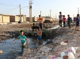 A glimpse of Ahwaz's sewage