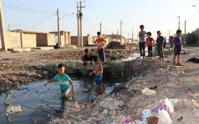 A glimpse of Ahwaz's sewage