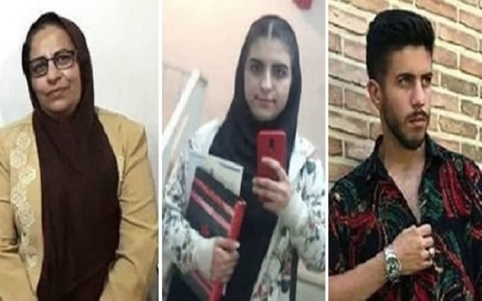 Iran has imposed harsh sentences on a political prisoner and her son and daughter.