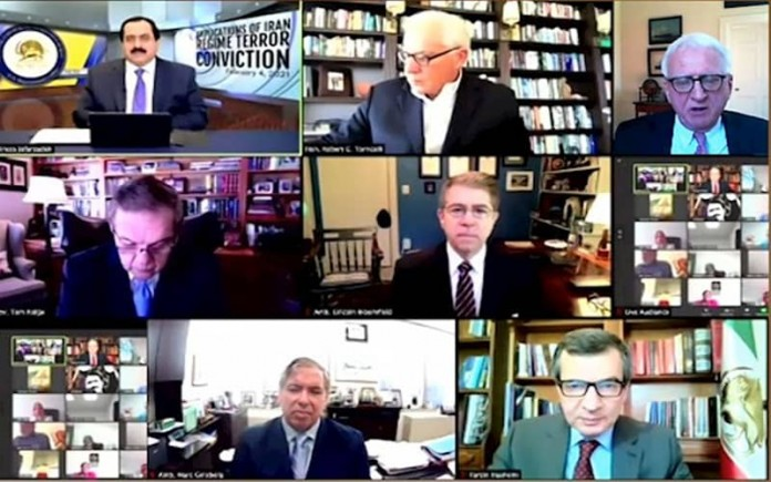 In a webinar hosted by the NCRI, renowned American politicians discuss the role of the Iranian Foreign Ministry in the Paris bombing plot.