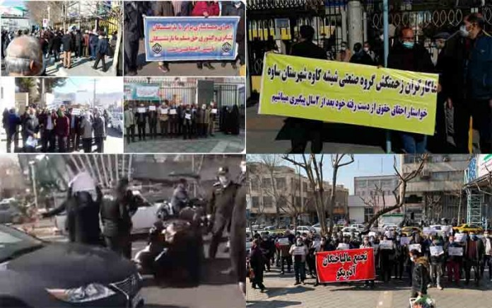 On February 3, Iranian citizens held at least five rallies and protests, venting their anger over the government's mismanagement.