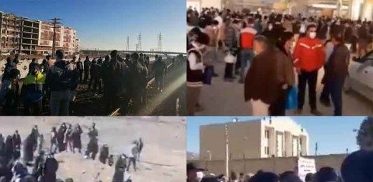 On February 15, the people of Iran held at least six rallies and protests in various cities, seeking their inherent rights.