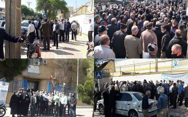 Countrywide Protests of Retirees—Iranians continue protests from March 3 to 7