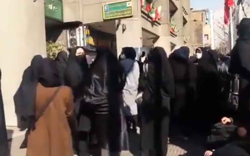 Rally of Contract Teachers—Iranians continue protests on March 2 and 3