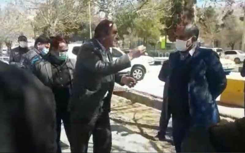 Rally of Water and Sewage Staff—Iranians continue protests from March 3 to 7