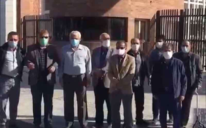 Rally of Steel Retirees—Iranians continue protests on March 2 and 3