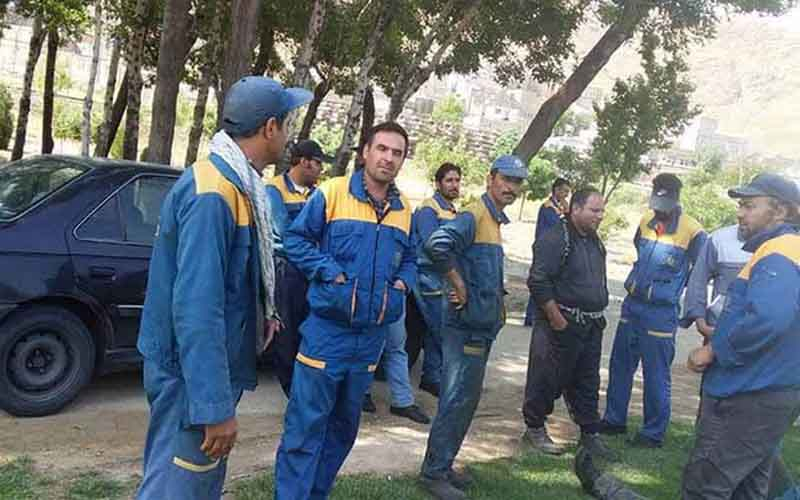Rally of Noor-Abad Railroad Workers—Iranians continue protests on March 8