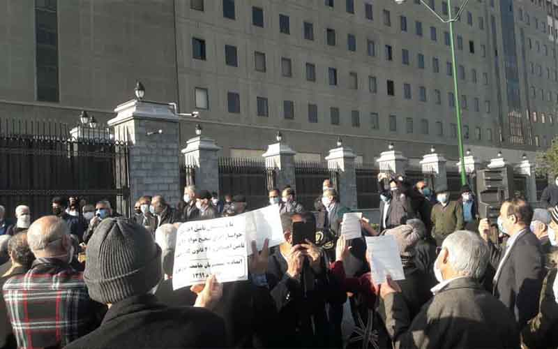 Rally of Steel Retirees—Iranians continue protests from March 3 to 7