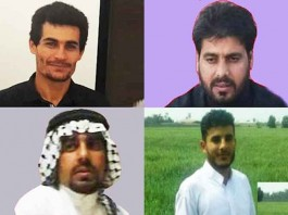 On February 28, officials hanged four political prisoners at Sepidar Prison in Ahvaz city, southwestern Iran, despite international condemnations.