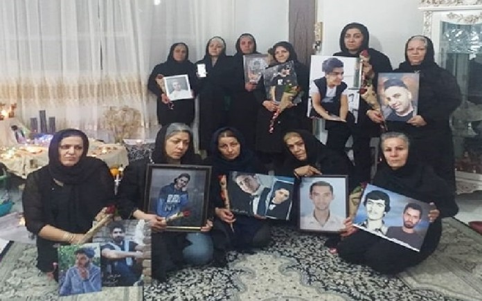 A gathering of the mothers of the victims killed during the November 2019 uprising