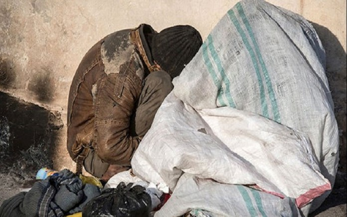 Poverty and homelessness under the rule of the mullahs
