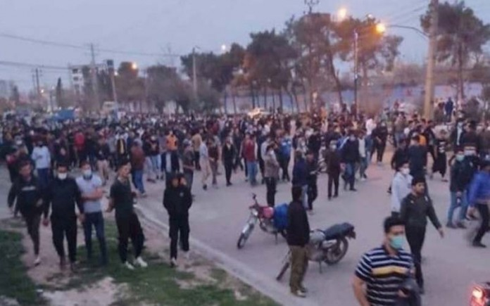 Iran Turkman Youths Protest Injustice