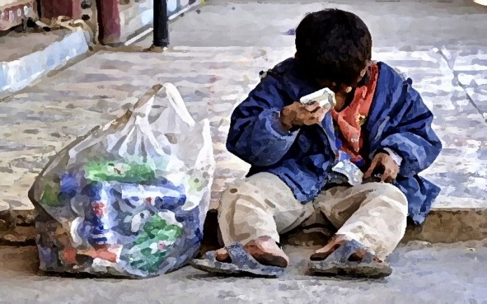 Poverty in Iran, despite its natural resources and strategic position in the region, is significant. 80% of Iran's population lives below the poverty line.
