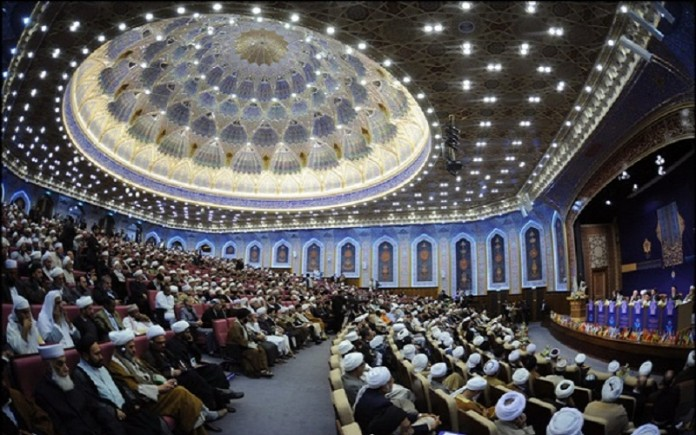 A picture of one of Iran's luxury seminaries, while most of the people are living under the poverty line