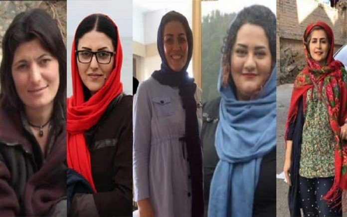 Iranian women political prisoners