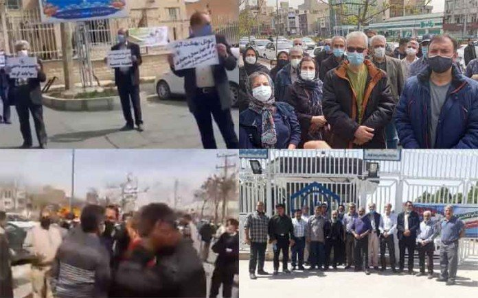 On March 17 and 18, the people of Iran staged at least 11 protestsin various cities over officials' failure to meet their inherent demands.