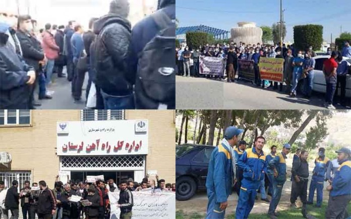 On March 8, Iranian citizens held at least five rallies and protests in various cities, venting their anger over the regime's mismanagement.
