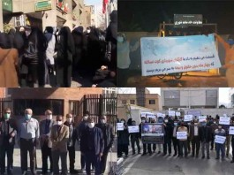 On March 2 and 3, Iranian citizens from different walks of life held at least seven rallies, protesting officials' imprudence in resolving dilemmas.