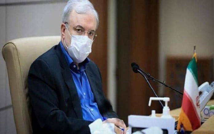 Iran's Minister of Health Saeed Namaki
