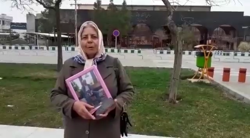Mrs. Sedigheh Maleki, wife of political prisoner Hashem Khastar