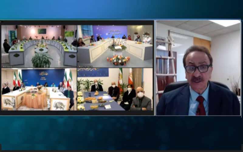 Aiham Alsammarae, mantan Menteri Listrik Irak, pada sesi online internasional menandai Ramadhan — 14 April 2021