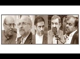 Military candidates for the presidency in Iran's elections
