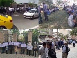 From April 26 to 28, the people of Iran held at least 14 rallies, protests, and strikes in various cities, venting their anger over the government's plundering and profiteering policies.