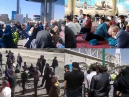 On April 4 and 5, citizens in Iran held at least 31 rallies and protests in various cities, venting their anger over the government's plundering and profiteering policies.
