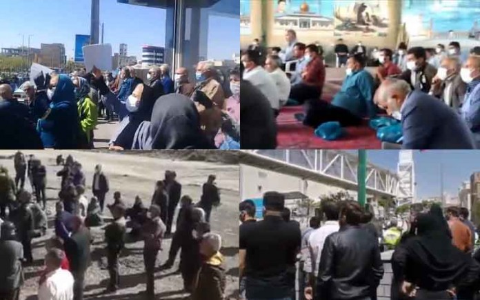 On April 4 and 5, citizens in Iran held at least 31 rallies andprotestsin various cities, venting their anger over the government's plundering and profiteering policies.